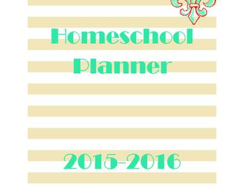 2015-2016 Homeschool Planner [Deluxe Package]