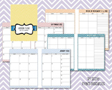 2017-2018 Lesson Planner and Calendar