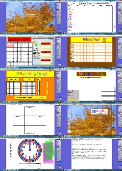2015-2016 Monthly Calendars on ActivInspire