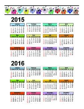 2015-2016 Planner