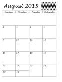 2015-2016 Planner / Calendar