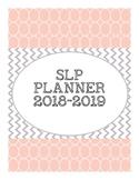 2018-2019 SLP planner