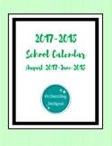 2018-2019 School Calendar