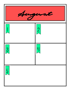 2016- 2017 School Calendar