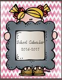 2016-2017 School Calendar-Chevron
