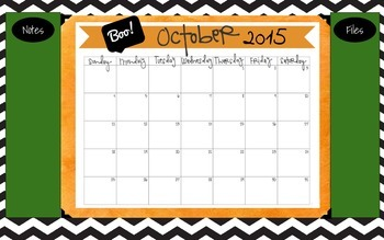 2015-2016 School Desktop Calendar