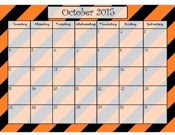 School Year Calendar 2015-2016