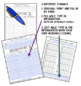 Speech Therapy Attendance Calendar and Daily Notation Logs-Updated for 2017-2018