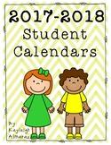 2016-2017 Student Calendars