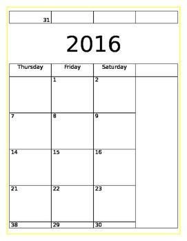 2016-2017 Student Homework Planner
