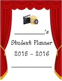 2015 - 2016 Student Planner Theatre Theme