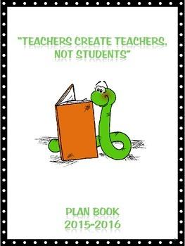 2015-2016 Teacher Planner