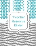 Teacher Binder | Teacher Planner 2019-2020 FREE UPDATES Gradebook Forms