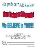 4th grade Math STAAR Review New Teks