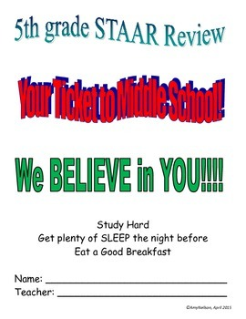 2015 5th Math STAAR Review
