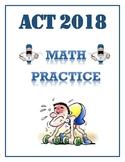 ACT Math Practice 2018