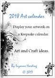 2018 Art Keepsake Calendar