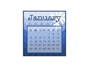 2015 and 2016 CD Case Calendar