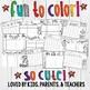Coloring Calendar. Parent Christmas Gift! Easy, FUN, Cute. Lifetime Updates!