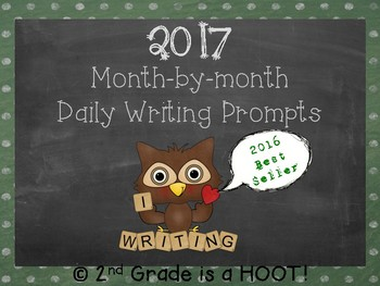 2017 Daily Writing Prompts  *Newly updated!