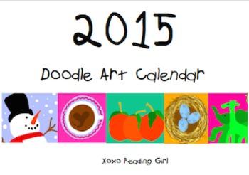 2015 Doodle Art Calendar