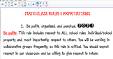 2016 EDITABLE CLASS RULES EXPECTATIONS SMART NOTEBOOK FOR