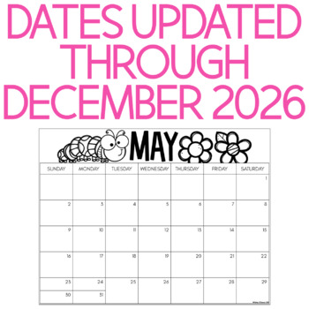 Family Calendar Parent Gift With Directed Drawings {2017-2019}