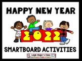 2018 Happy New Year Bundle for SMARTboard - Math and Language