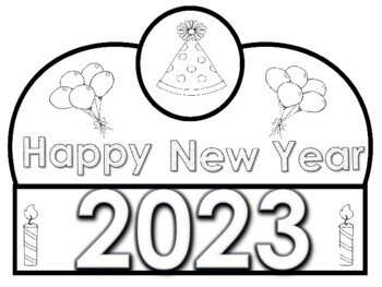 2019 Happy New Year Crowns (Free Yearly Updates) by Kinder ...