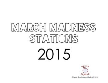 2015 March Madness Basketball Stats Stations