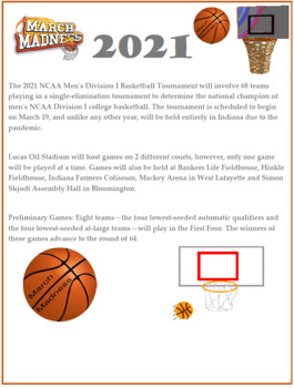 March Madness SAT-ACT Math Worksheets