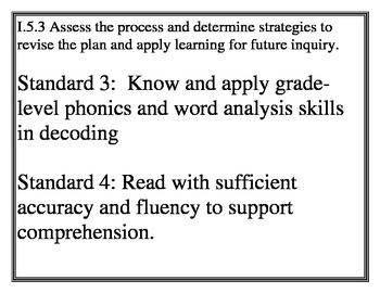 2015 NEW SC Career Readiness standards