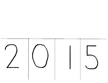2015 New Years Resolution Flip Book