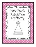 2015 New Years Resolution Writing Craftivity