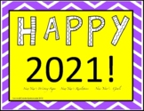 2018 New Year's Writing Activities - Goals and Resolutions!