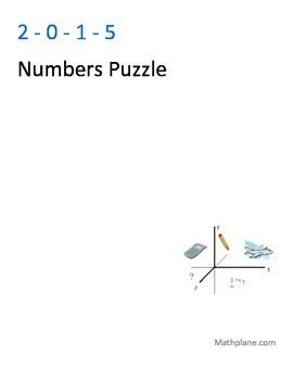 2015 Number Puzzle