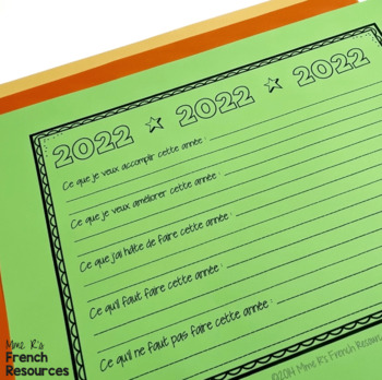 French New Year's Resolutions 2018