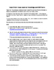 2015 STAAR and TEKS 6th Grade Math Data Packet