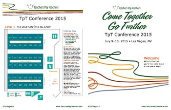 2015 TpT Vegas Conference Guide