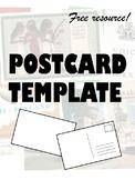 Postcard template!