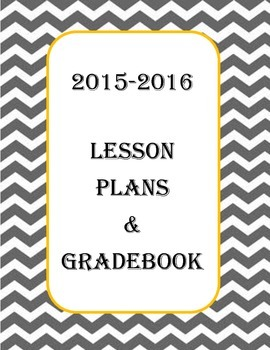 2015/2016 Lesson Plan Cover