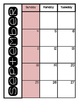 2016-17 Calendar Pages for Teacher Binder