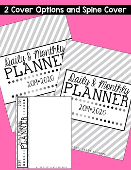 Daily & Monthly Calendar Planner
