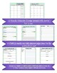 2017-18 EDITABLE School Counselor Planning Bundle