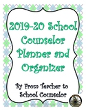 2018-19 EDITABLE School Counselor Planning Bundle