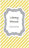2016-17 Library Planner - Yellow