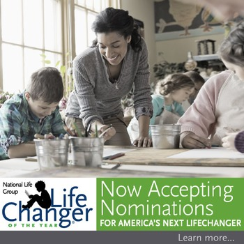 2016-17 LifeChanger of the Year nomination