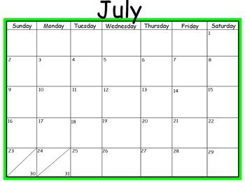 2016-17 Mimio Calendar 12 months