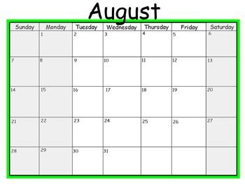 2016-17 Mimio Calendar *Tuesday-Friday: 4 Day Weeks* 12 months