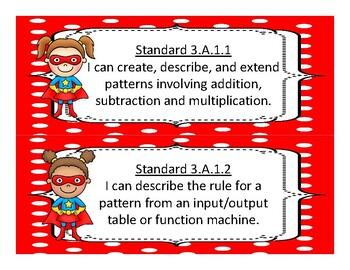 3rd Grade Oklahoma Academic Standards Math, Language Arts 2017-2018